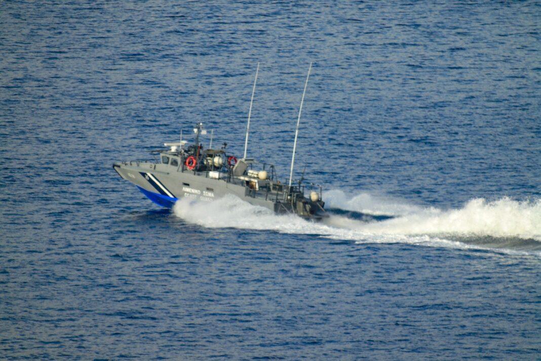 λιμενικό σκάφος περιπολία eurokinissi
