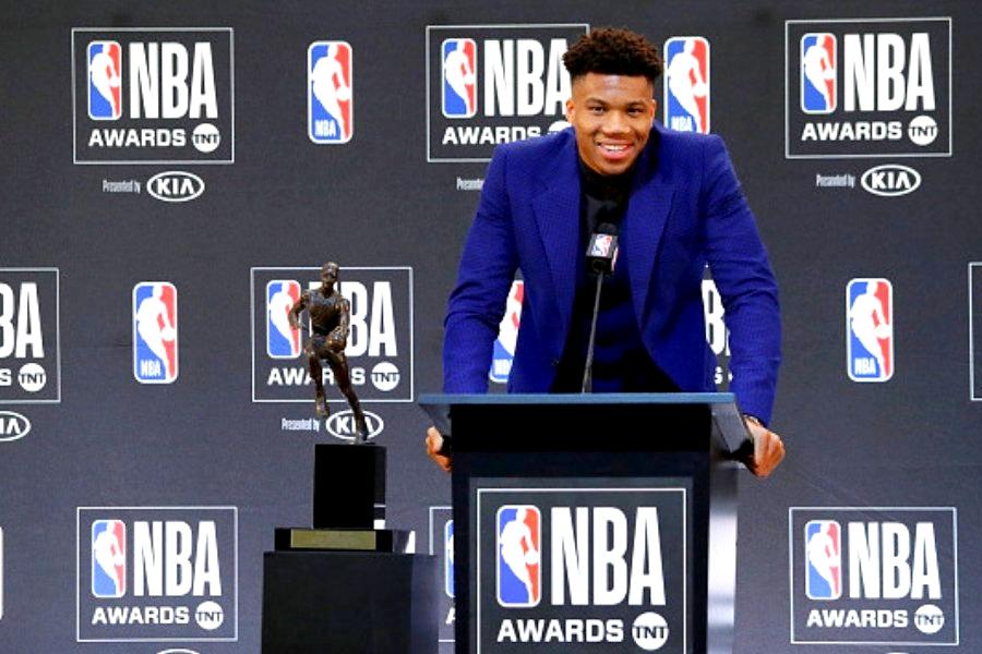 Αντετοκούνμπο βραβείο MVP 2018-19