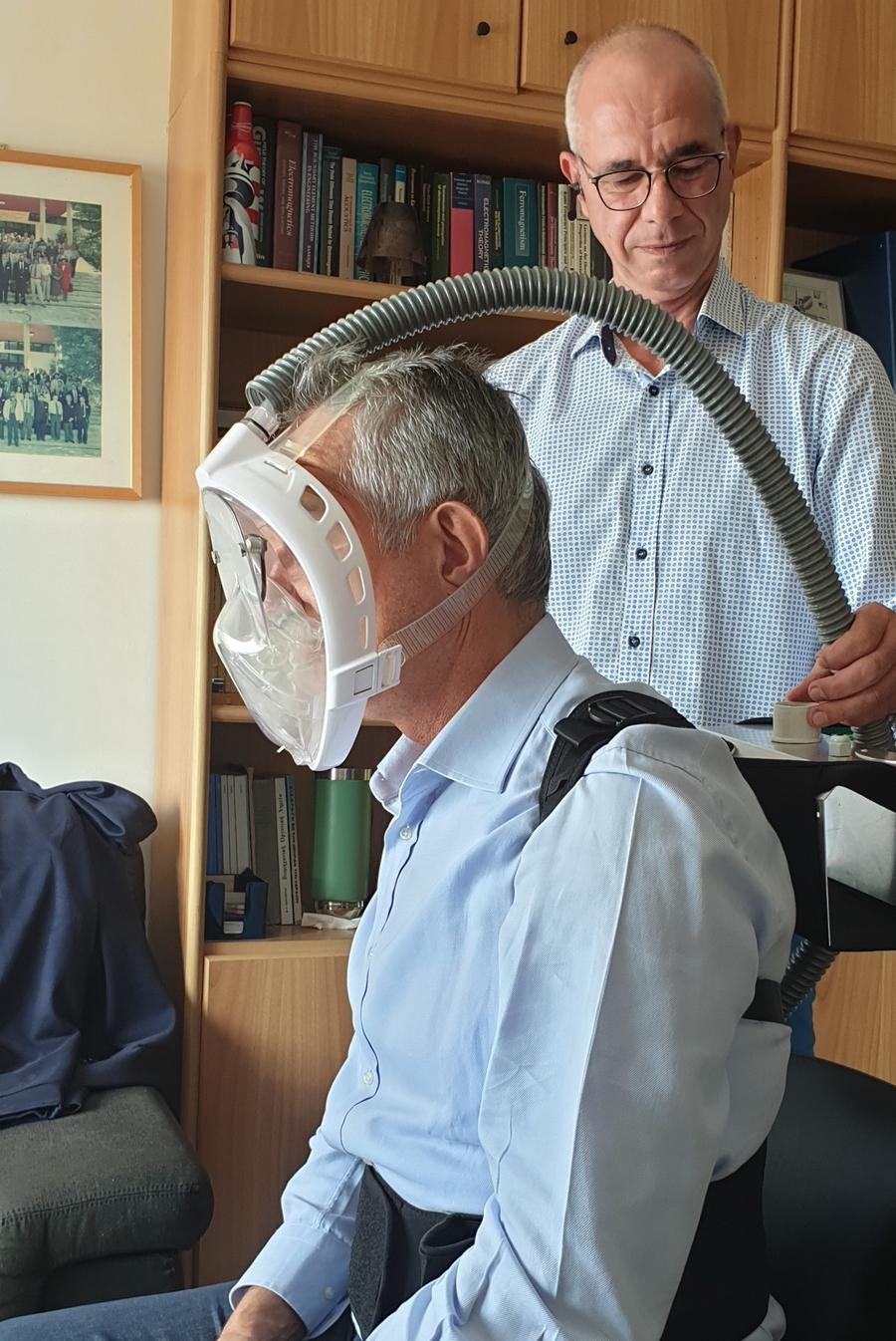 κορονοϊός μάσκα ΑΠΘ εξολοθρευτής νοσηλευτικό προσωπικό παγκόσμια καινοτομία