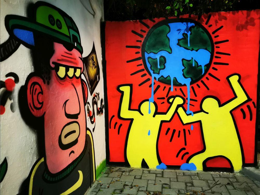γκράφιτι περιβάλλον